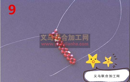 串珠编织戒指的做法--图解教程