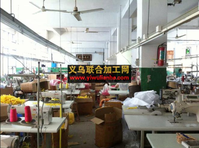 义乌大型服装工厂 义乌服装加工厂图片